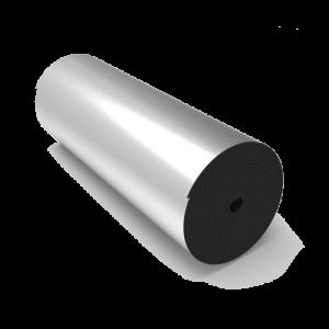 عایق الاستومری رولی پشت چسبدار با روکش آلومینیوم