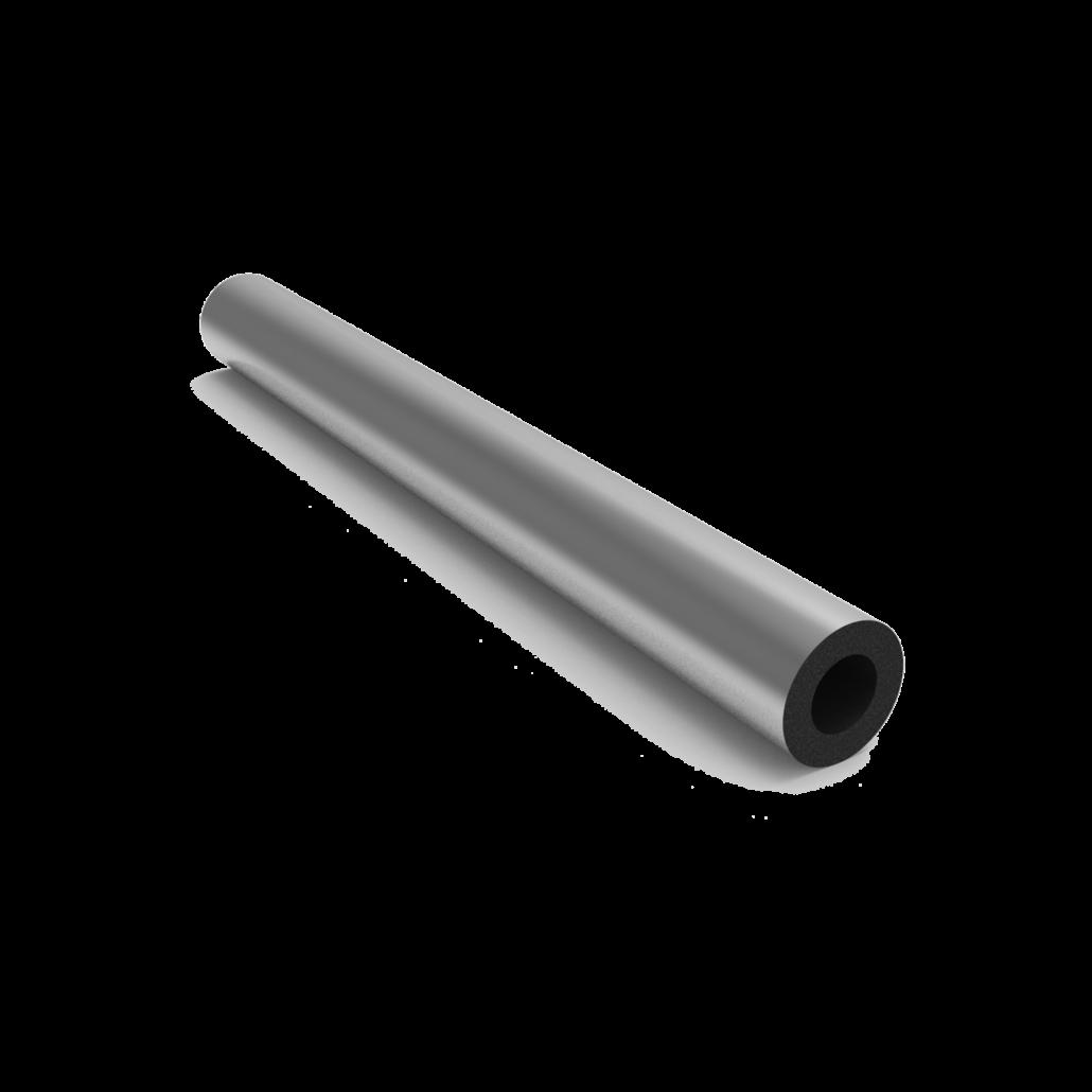 عایق الاستومری لوله ای با روکش آلومینیوم